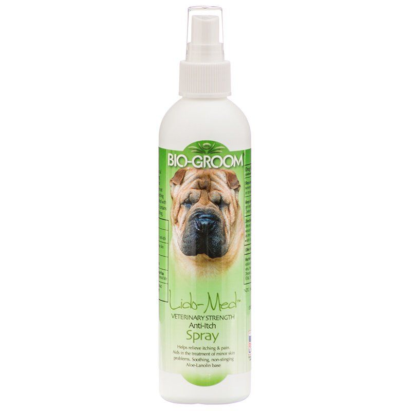 Bio Groom Lido Med Anti Itch Spray 8 oz - All Pets Store
