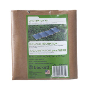 "Beckett PVC Liner Patch Kit Patch Kit - 18"" Long x 5"" Wide - All Pets Store"