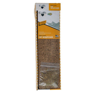 "OurPets Cosmic Catnip Single Wide Cat Scratcher 20""L x 4""W x 2""H"