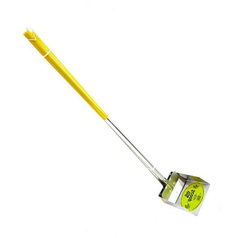 Flexrake The Scoop - Poop Scoop & Spade with Aluminum Handle Small - 3' Handle - 6.5