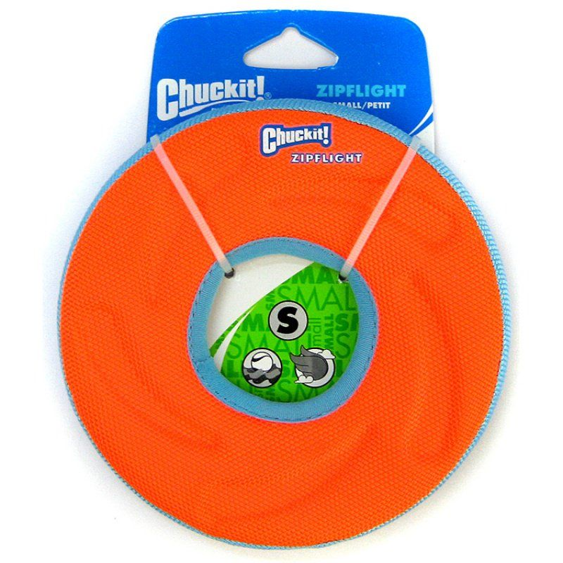 Chuckit Zipflight Amphibious Flying Ring - Assorted Medium - 8