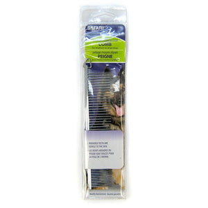 "Safari Medium Coarse Comb 7.25"" - Medium Coarse Comb - All Pets Store"