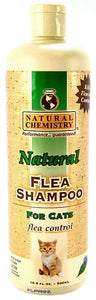 Natural Chemistry Natural Flea & Tick Shampoo for Cats 16 oz - All Pets Store