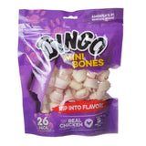 "Dingo Meat in the Middle Rawhide Chew Bones Mini - 2.5"" (26 Pack) - All Pets Store"