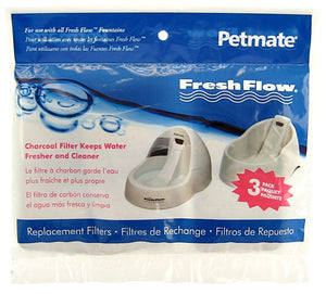 Petmate Fresh Flow Replacement Filters 3 Pack - All Pets Store