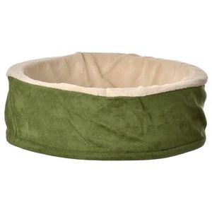 "Petmate Cuddle Cup Cat Bed 17"" Diameter x 6"" Tall - All Pets Store"