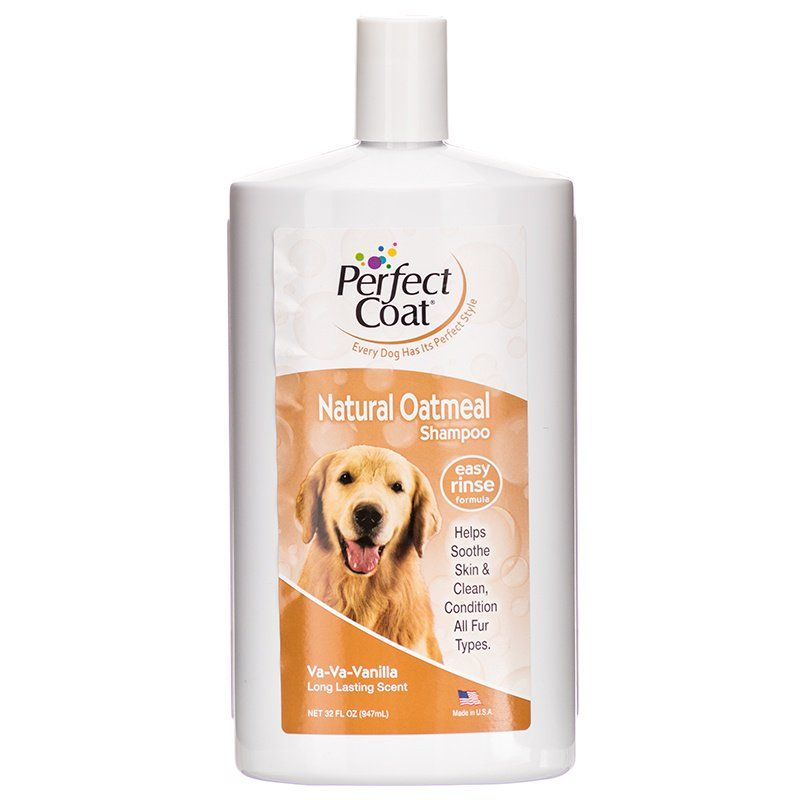 Perfect Coat Oatmeal Shampoo - Vanilla Scent 32 oz - All Pets Store