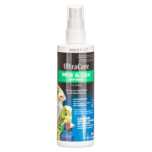 Ultra Care Mite & Lice Bird Spray 8 oz Pump Spray - All Pets Store