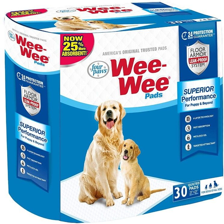 Four Paws Wee Wee Pads Original 30 Pack (22