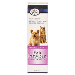 Four Paws Ear Powder Medicated for Dogs 24 Grams - All Pets Store