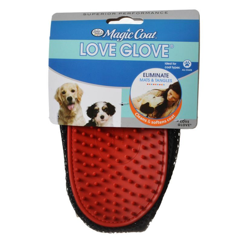 Four Paws Love Glove Grooming Mitt Love Glove Grooming Mitt - All Pets Store