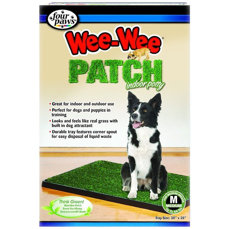 Four Paws Wee Wee Patch Indoor Potty Medium (20