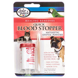 Four Paws Quick Blood Stopper Antiseptic Styptic Powder 0.5 oz - All Pets Store