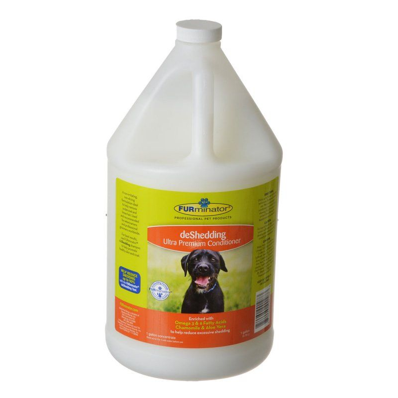 FURminator deShedding Ultra Premium Conditioner for Dogs 1 Gallon (Concentrate) - All Pets Store