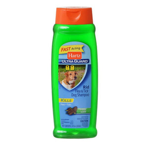 Hartz UltraGuard Rid Flea & Tick Shampoo - Fresh Scent 18 oz - All Pets Store