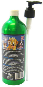 Iceland Pure Unscented Pharmaceutical Grade Salmon Oil 16 oz - All Pets Store