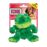 "Kong Plush Frog Dog Toy Small - 5"" - All Pets Store"