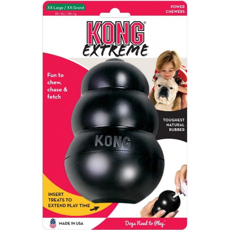 Kong Extreme Kong Dog Toy - Black XX-Large - Dogs over 85 lbs (6