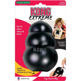 "Kong Extreme Kong Dog Toy - Black XX-Large - Dogs over 85 lbs (6"" Tall x 1.5"" Diameter) - All Pets Store"