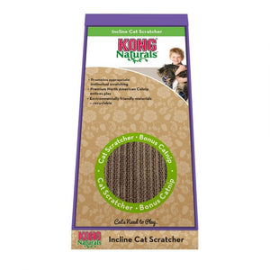 "Kong Incline Cardboard Scratcher 10.25""L x 8.25""W x 19.25""H - All Pets Store"