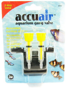 JW Fusion Accuair 2 Way Aquarium Gang Valve 2 Way Gang Valve - All Pets Store
