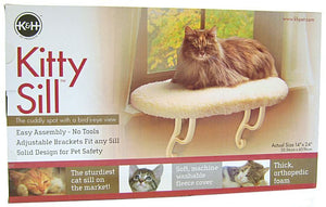 "K&H Pet Products Kitty Window Sill Bed (Unheated) 24"" Long x 14"" Wide - All Pets Store"