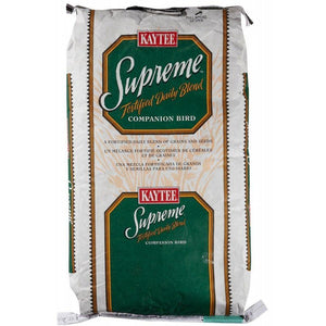 Kaytee Supreme Natural Blend Bird Food - Parrot 25 lbs - All Pets Store