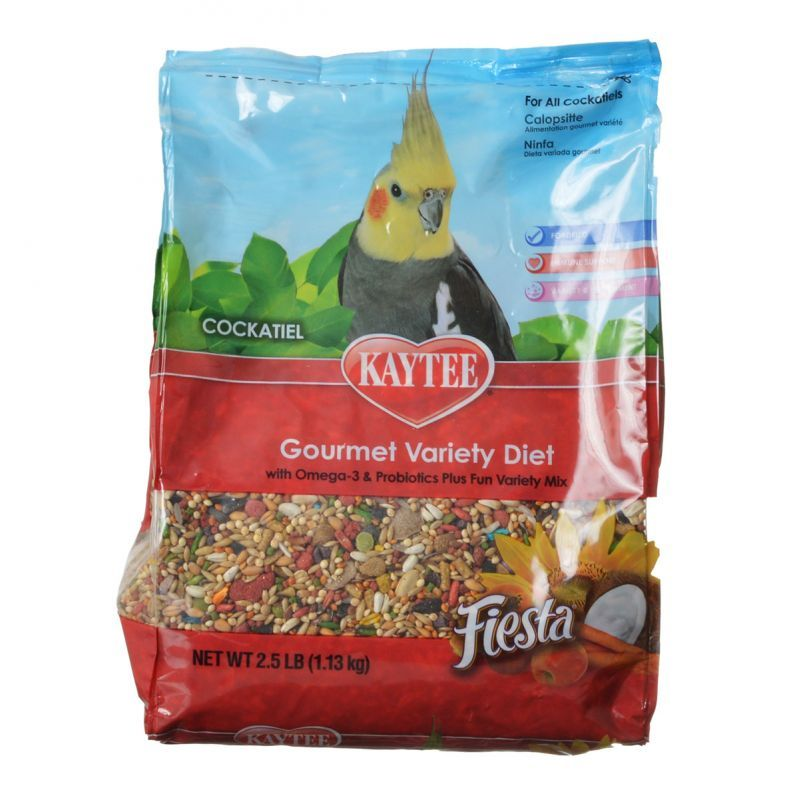 Kaytee Fiesta Max - Cockatiel Food 2.5 lbs - All Pets Store