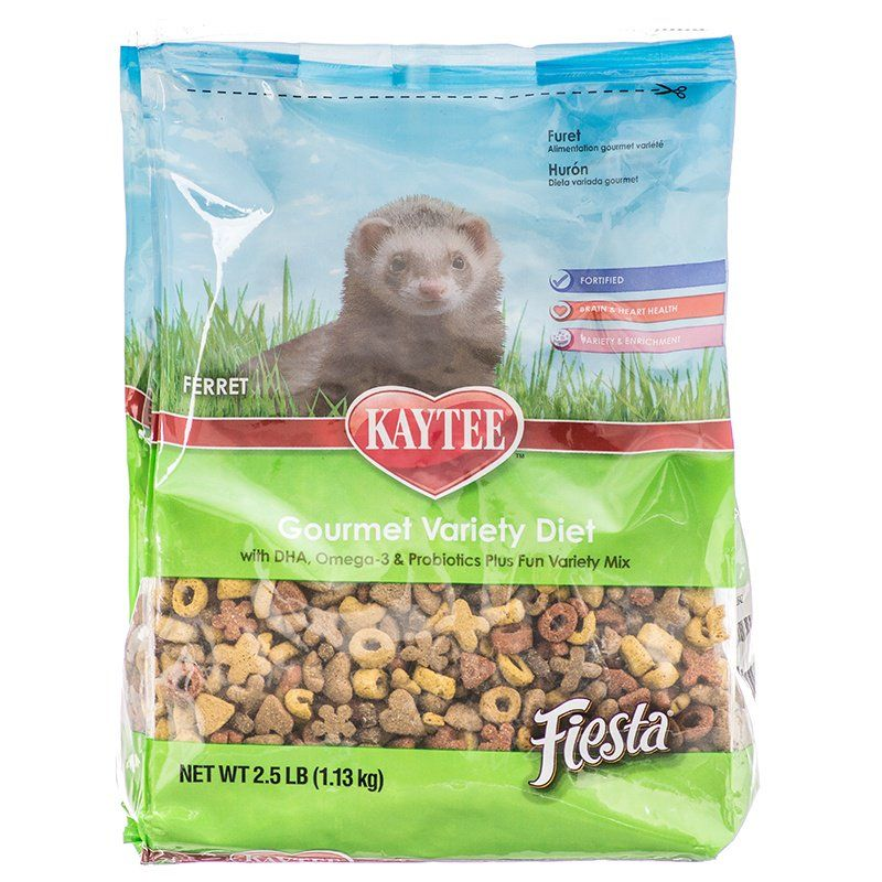Kaytee Fiesta Ferret Food 2.5 lbs - All Pets Store