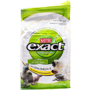 Kaytee Exact Hand Feeding Formula for All Baby Birds 5 lbs - All Pets Store