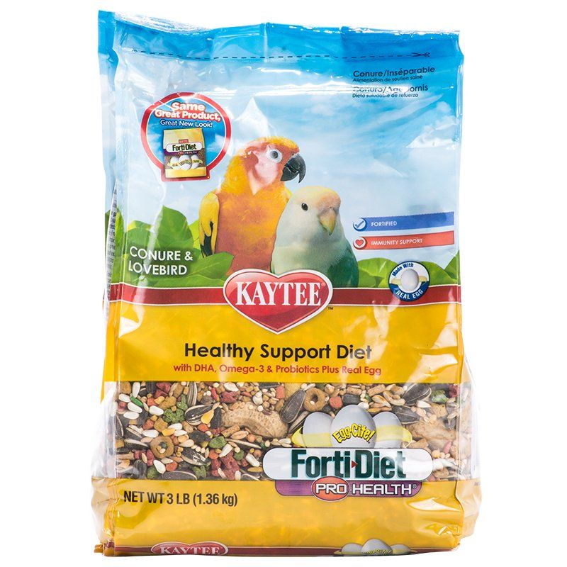 Kaytee Forti-Diet Pro Health Egg-Cite! Conure Food 3 lbs - All Pets Store
