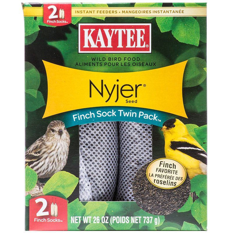 Kaytee Finch Sock Bird Feeder 26 oz (2 Pack) - All Pets Store