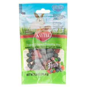 Kaytee Fiesta Yogurt Dipped Timothy Hay - Small Animals 2.5 oz - All Pets Store