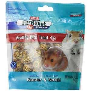 Kaytee Forti-Diet Pro Health Healthy Bits Treat - Hamster & Gerbil 4.75 oz - All Pets Store