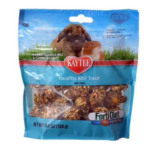 Kaytee Forti-Diet Pro Health Healthy Bits Treat - Rabbits, Guinea Pigs & Chinchilla 4.5 oz - All Pets Store