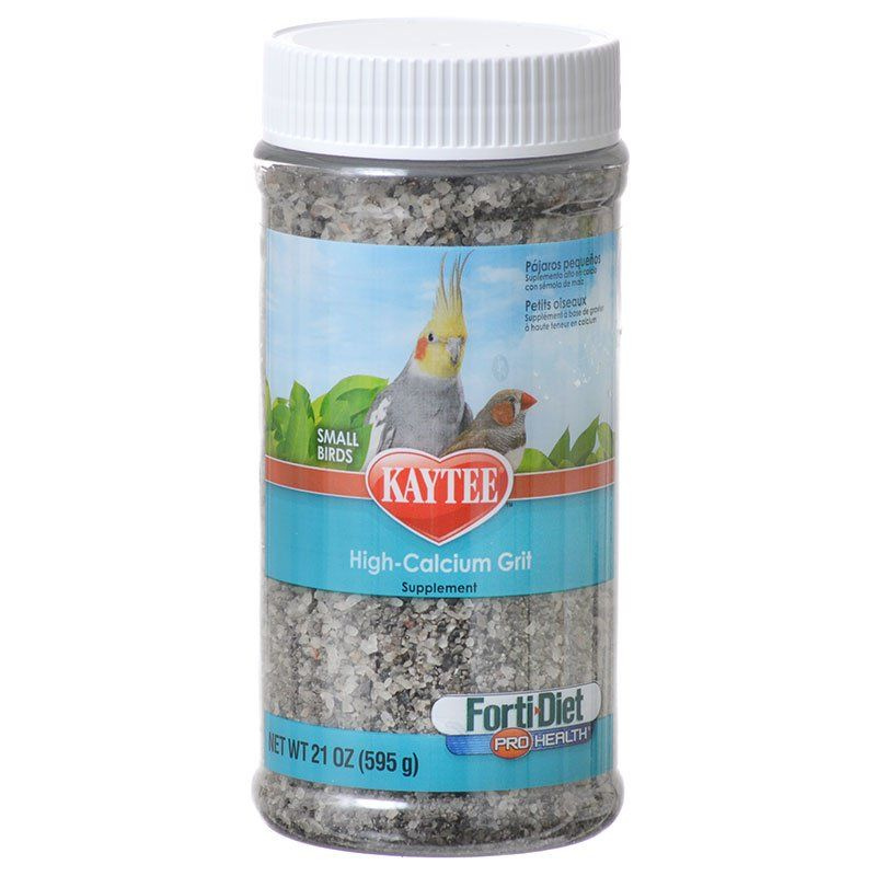 Kaytee Forti-Diet Pro Health Hi-Cal Grit - Parakeet, Canarie & Finch 21 oz - All Pets Store