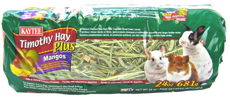 Kaytee Timothy Hay Plus Mangos - Small Animals 24 oz - All Pets Store