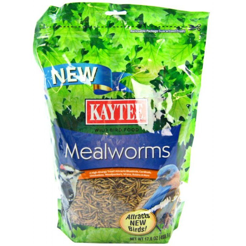 Kaytee Mealworms Bird Food 17.6 oz - All Pets Store