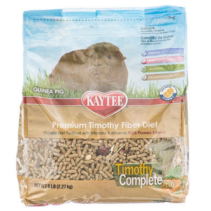 Kaytee Timothy Complete Guinea Pig Food Plus Flowers & Herbs 5 lbs - All Pets Store