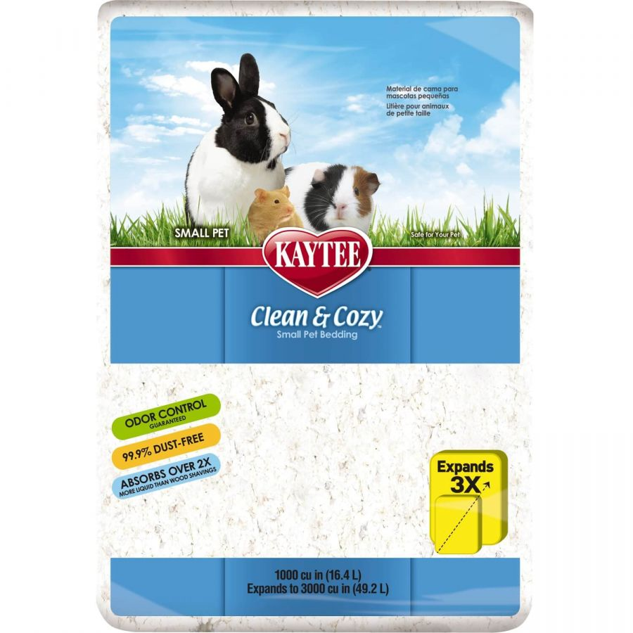 Kaytee Clean & Cozy Small Pet Bedding 1,000 Cubic Inches - All Pets Store