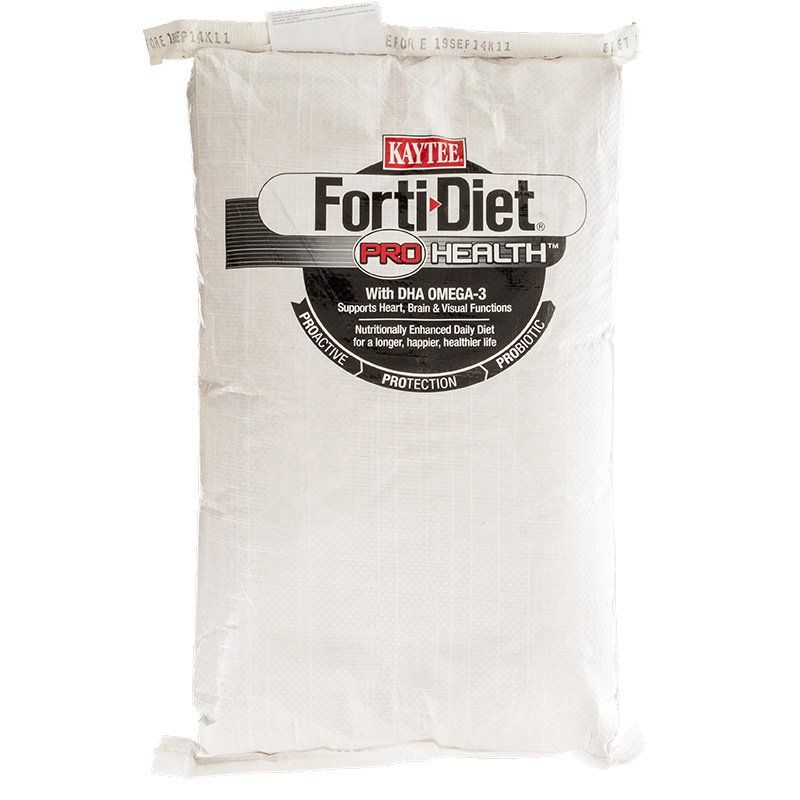 Kaytee Forti-Diet Pro Health Parrot Food 25 lbs - All Pets Store