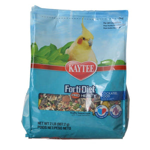 Kaytee Forti-Diet Pro Health Cockatiel Food 2 lbs - All Pets Store
