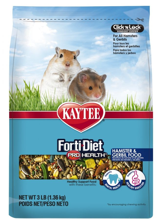 Kaytee Forti-Diet Pro Health Hamster & Gerbil Food 3 lbs - All Pets Store
