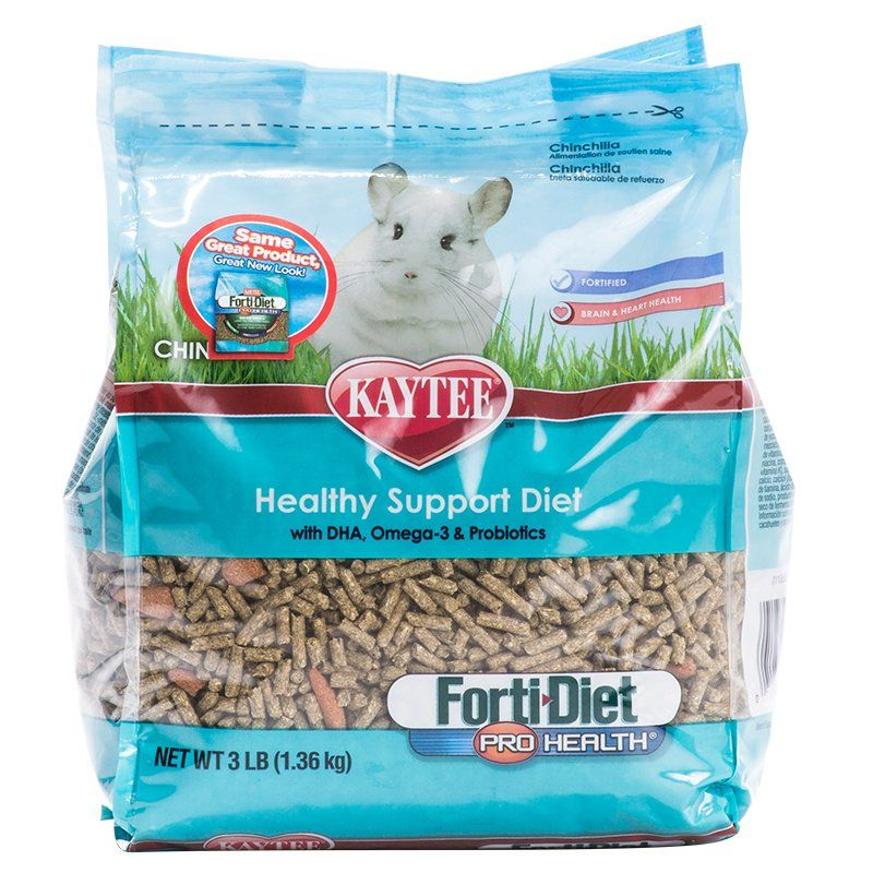 Kaytee Forti-Diet Pro Health Chinchilla Food 3 lbs - All Pets Store