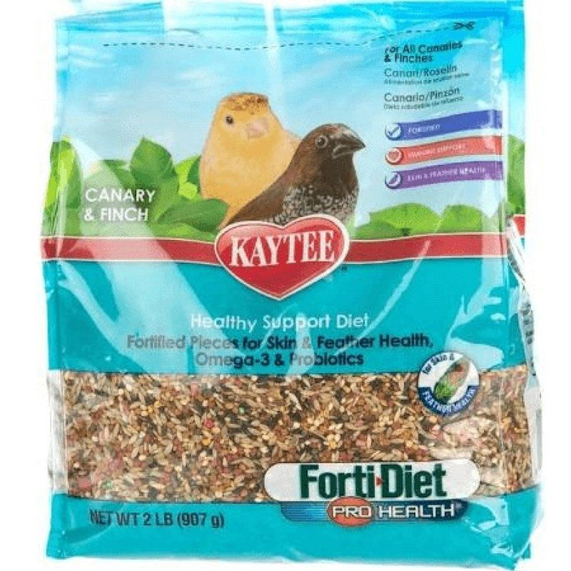 Kaytee Forti Diet Pro Health Canary & Finch Food 2 lbs - All Pets Store