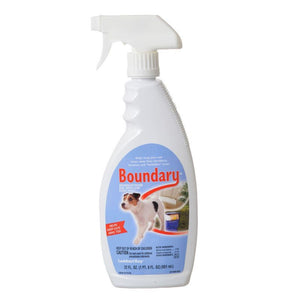 Boundary Indoor & Outdoor Dog Repellant Spray 22 oz - All Pets Store