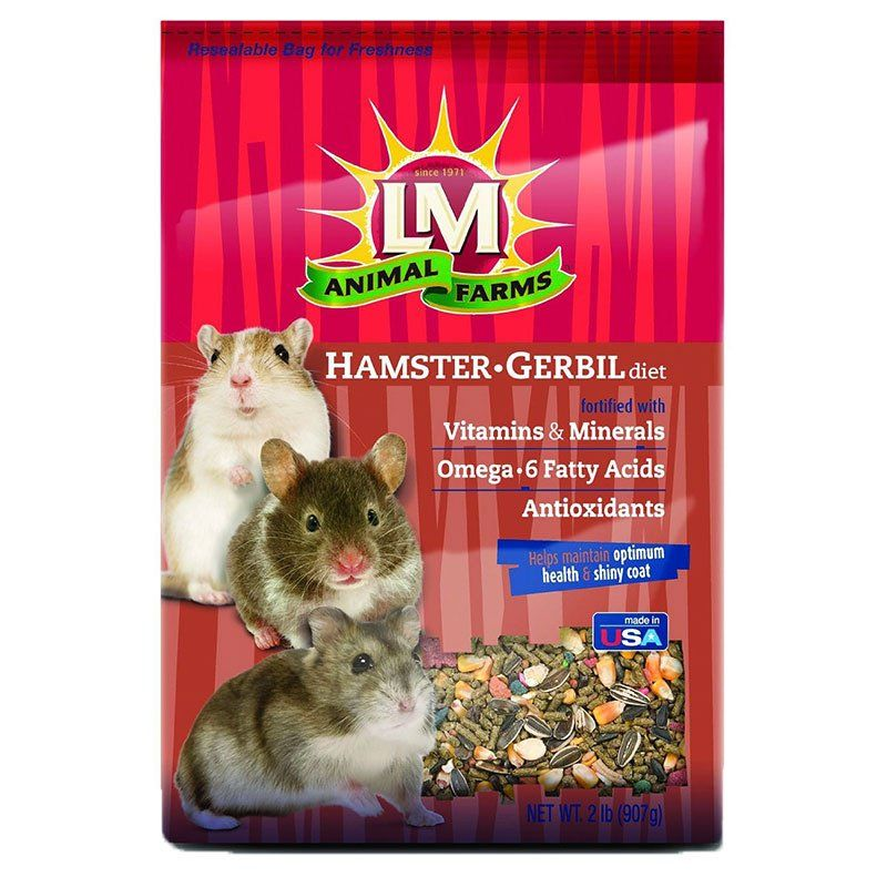 LM Animal Farms Hamster & Gerbil Diet 2 lbs - All Pets Store