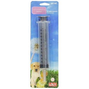 Lixit Hand Feeding Syringe for Baby Animals 60 ml Hand Feeding Syringe - All Pets Store