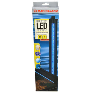 "Marineland Blue Accent LED Hidden Lighting System 460NM Blue 17"" Long - 300 Lumens - All Pets Store"