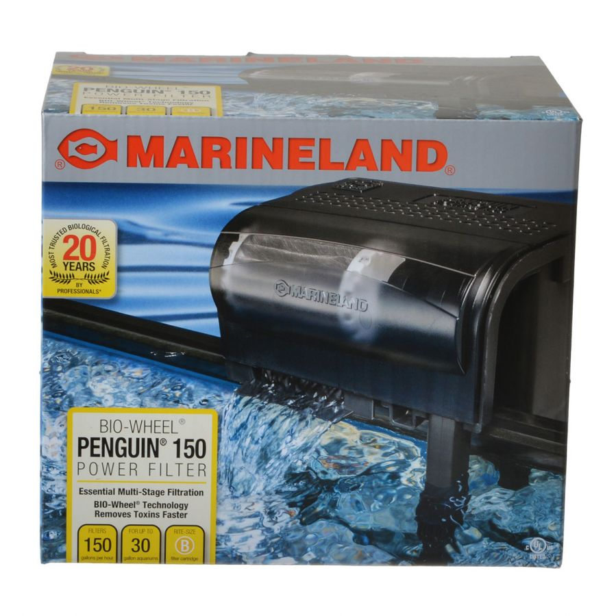 Marineland Penguin Bio Wheel Power Filter Penguin 150B - 150GPH (30 Gallon Tank) - All Pets Store